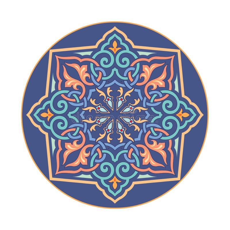 Rosyjskiego celta Orientalny ornament - ilustracja projekty royalty ilustracja