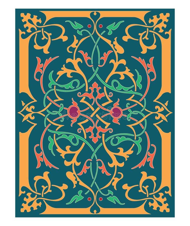 Rosyjskiego celta Orientalny ornament - ilustracja projekty ilustracja wektor