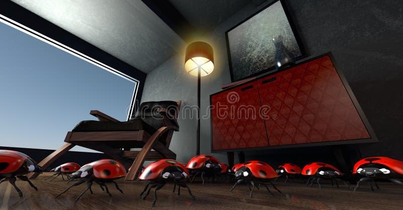 Rot, Auditorium, Technologie stockfotos