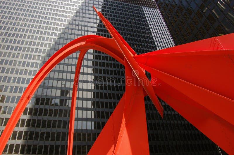 Rot auf Schwarzem lizenzfreies stockfoto
