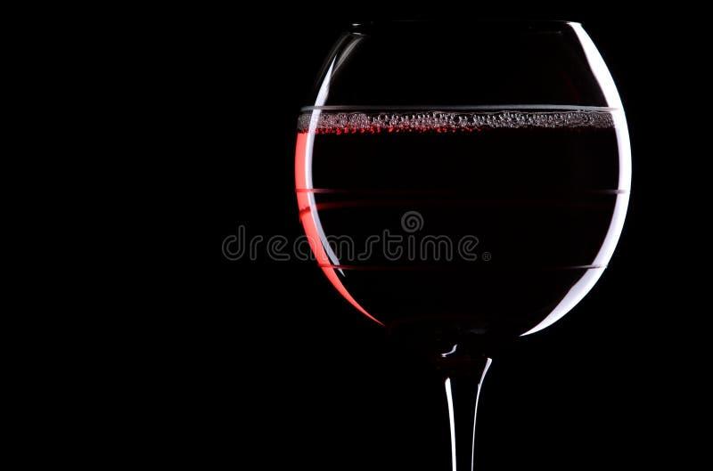 Rot auf Schwarzem stockbilder