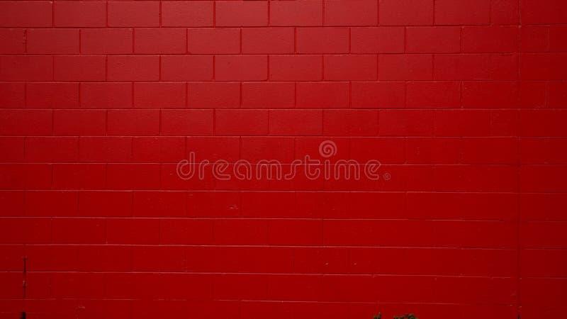 Rot gemalte Wand lizenzfreie stockfotografie