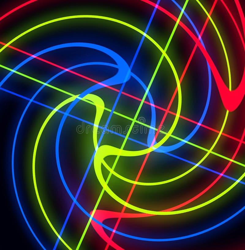 Rot, grün und Blau 7 lizenzfreie abbildung