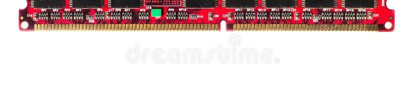 Rot lokalisiertes RAM lizenzfreies stockbild