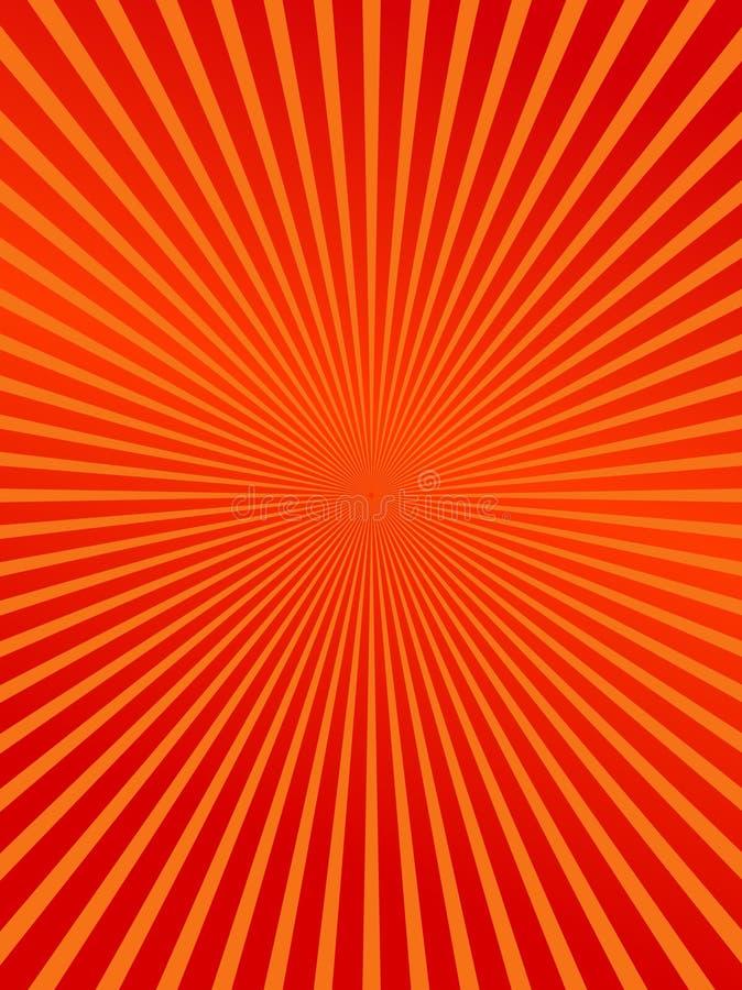 Rot sprengte abstrakten Hintergrund lizenzfreie abbildung