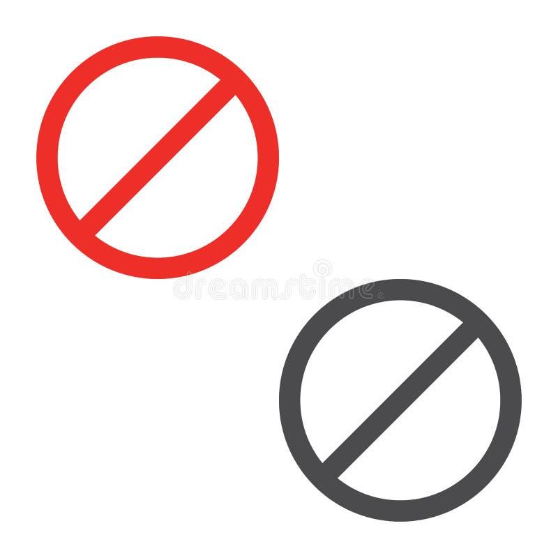 Rot stoppen AufmerksamkeitsVerkehrsschild Stoppschildikonenvektor eps10 lizenzfreie abbildung