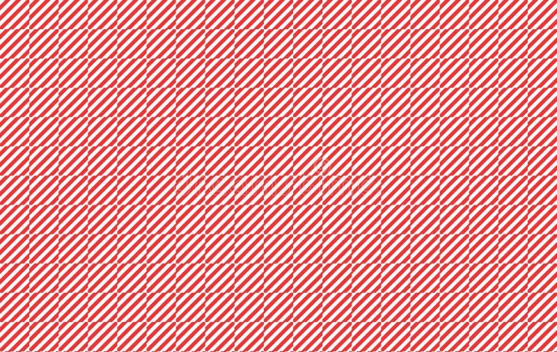 Rot und Weiß überprüfte Beschaffenheit lizenzfreie abbildung