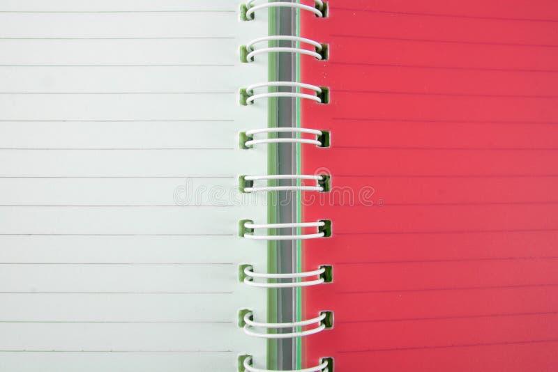Rot- und Weißbuchlinie Hintergrund stockfotos