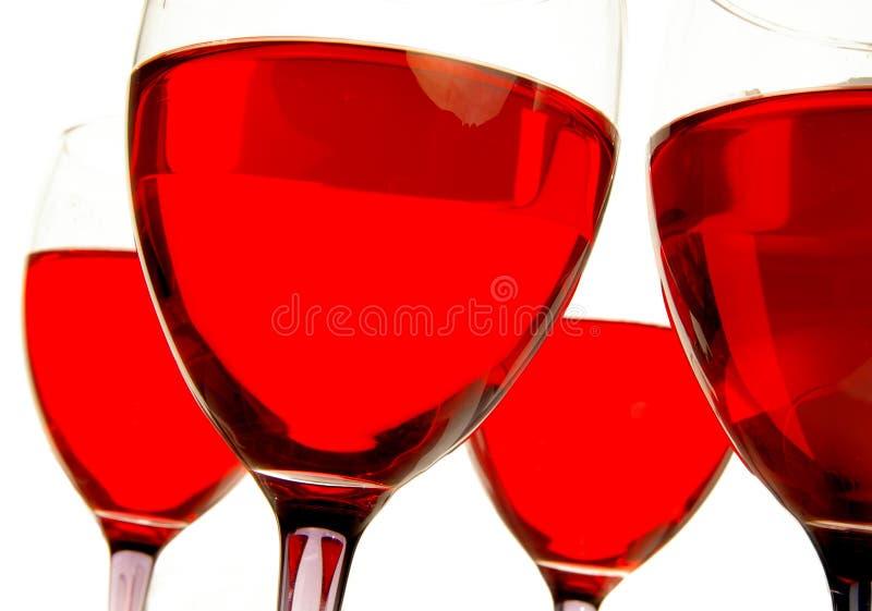 Rot von unterhalb lizenzfreies stockfoto