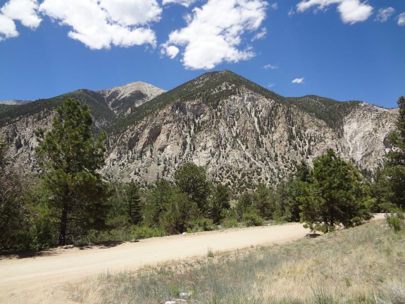Rota cênico de Colorado fotos de stock royalty free