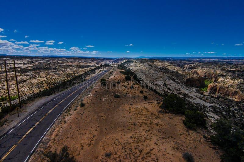 Rota cênico 12Escalante de Utá do Byway a Boulder o Hogback foto de stock royalty free