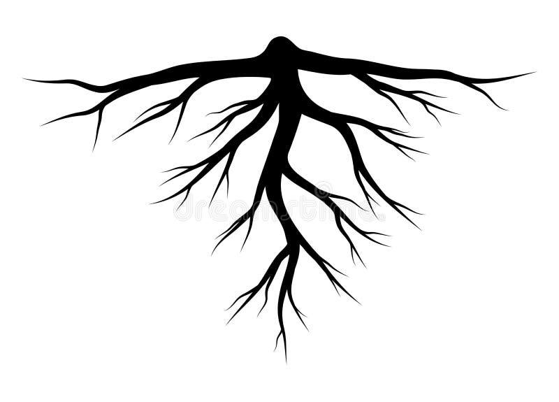 Rota designen för symbolen för konturvektorsymbolet stock illustrationer