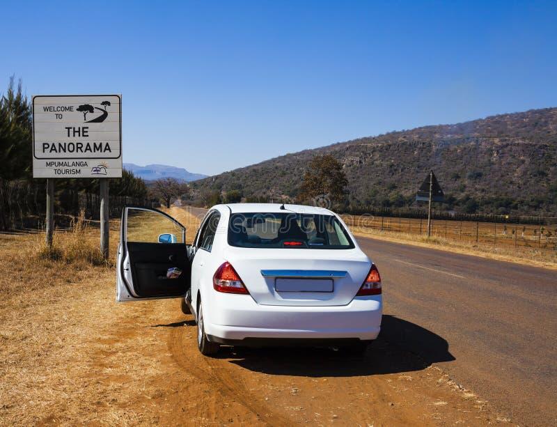Rota do panorama, província de Mpumalanga, África do Sul fotos de stock