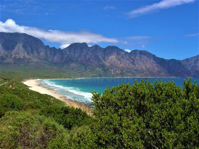 Rota ?frica do Sul do jardim de Cape Town imagem de stock royalty free