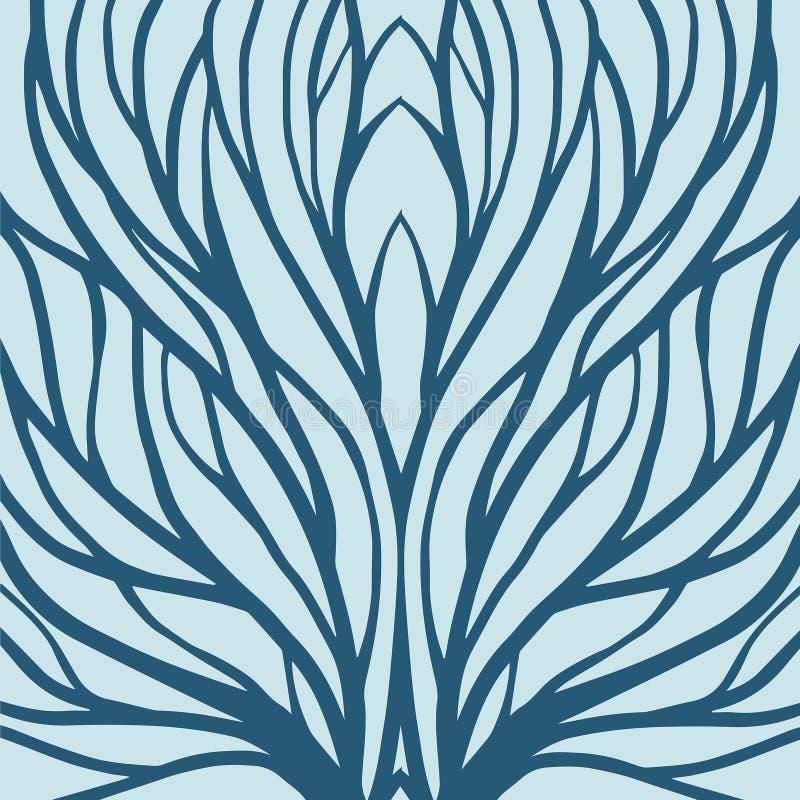 Rota modellillustrationen för textil och utskrift vektor illustrationer