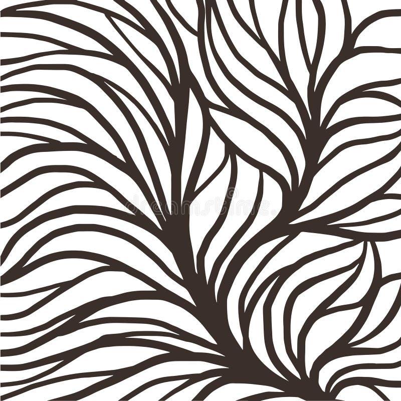 Rota modellillustrationen f?r textil och utskrift stock illustrationer