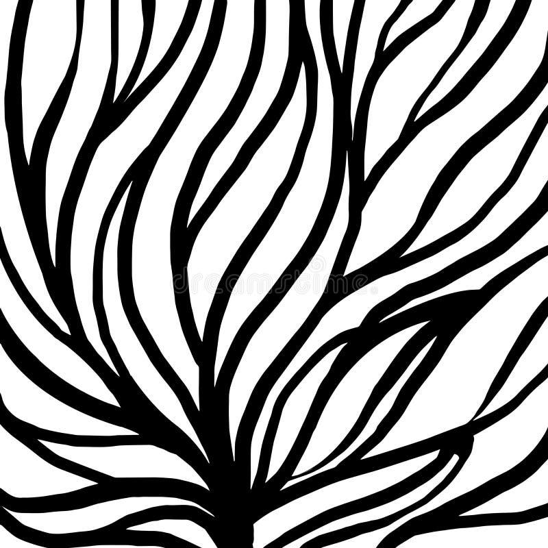 Rota modellillustrationen f?r textil och utskrift royaltyfri illustrationer
