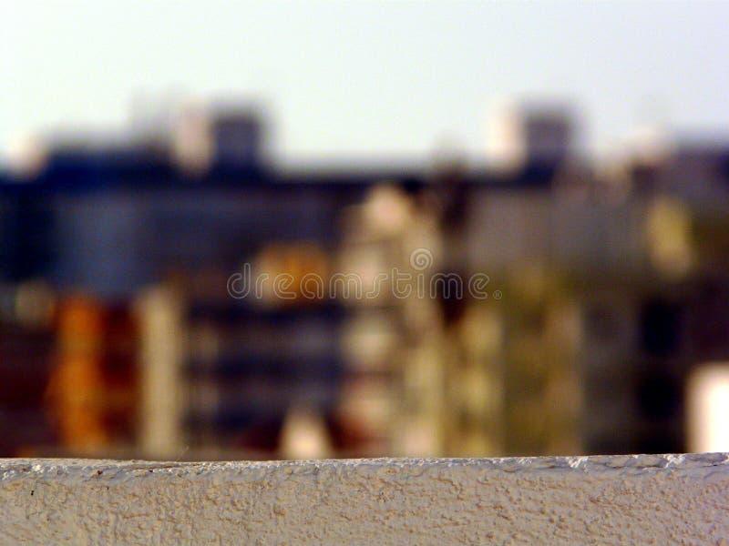 Rota Spanien Abstrakt bakgrund, flerbostadshus arkivfoton