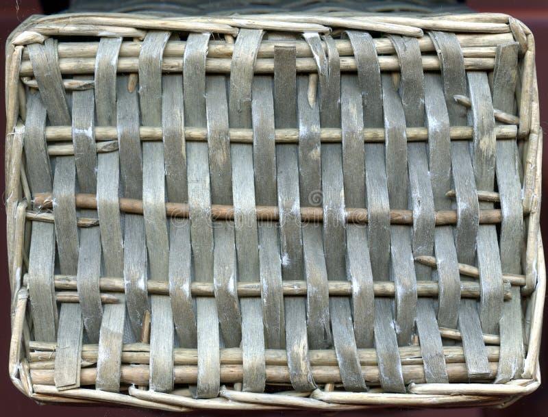 Rotan van hout wordt gemaakt dat Bruine houten textuurachtergrond van rotan met natuurlijke patronen stock fotografie