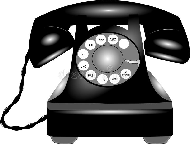Rotary Telephone Royalty Free Stock Photos