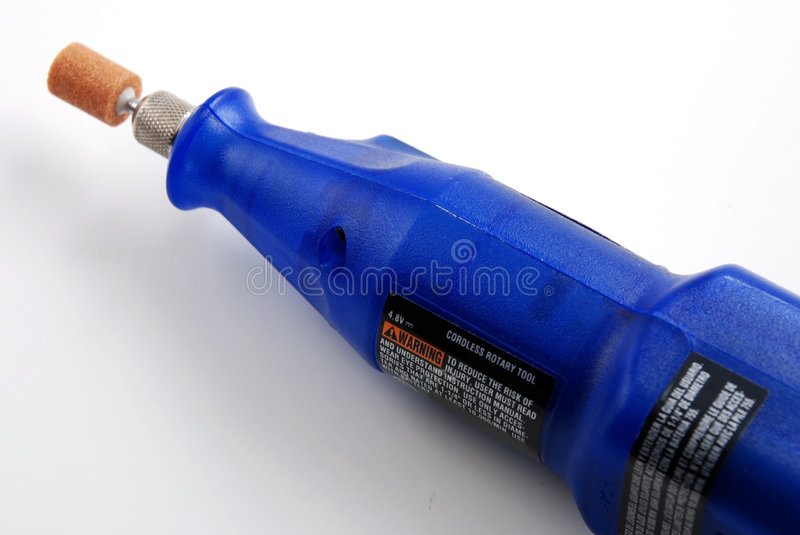 Rotary tool. Stock pictures of a hand held rotary tool for multiple uses stock image
