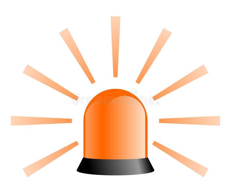 Download Rotating Beacon - Orange stock illustration. Image of safety - 8166513