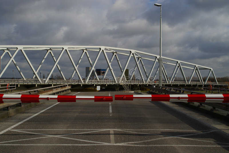 Rotating Bridge stock photo