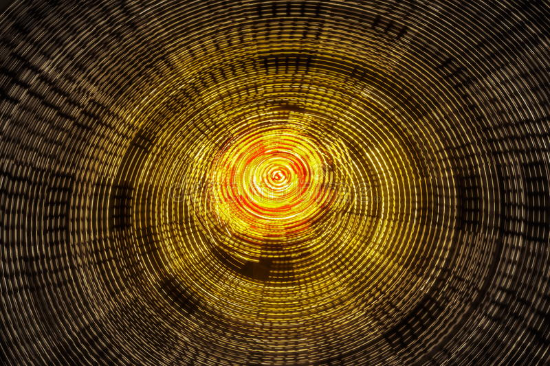 Rotating ferris wheel motion blur royalty free illustration