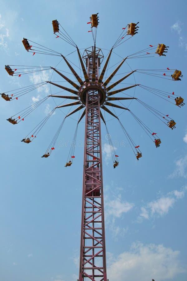 Rotating flywheel royalty free stock photos