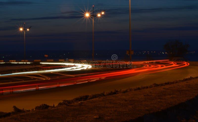 Rotation à la grande vitesse photos libres de droits