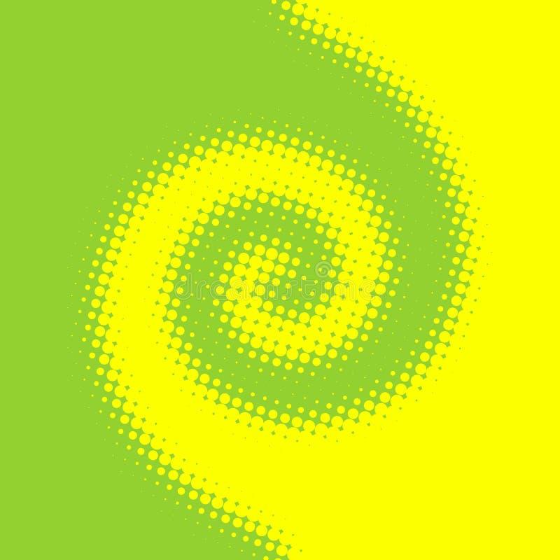 Rotation colorée image stock