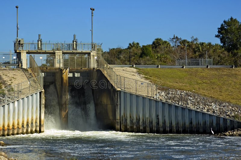Rotation de barrage photos libres de droits