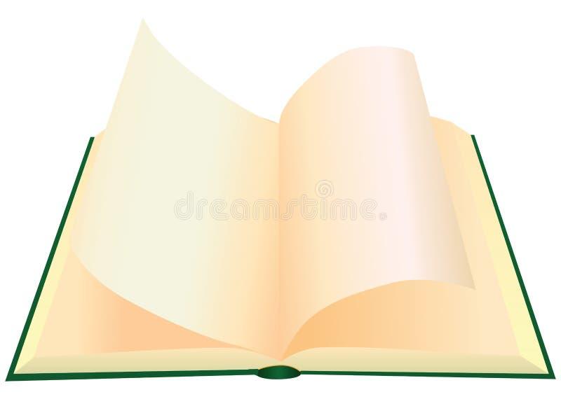 Rotation des pages illustration stock