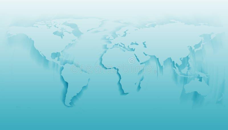 Rotazione del mondo illustrazione vettoriale