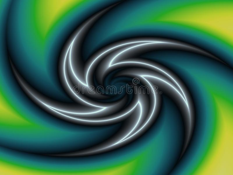 Rotazione a spirale IV illustrazione di stock