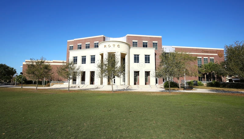 ROTC Building at the University of Central Florida royalty free stock photo