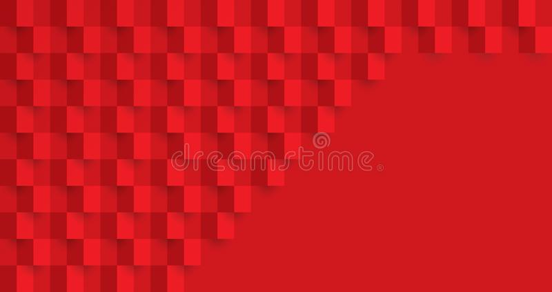 Rote abstrakte Beschaffenheit Vektorhintergrund kann im Abdeckungsentwurf, Buchentwurf, Plakat, CDabdeckung, Websitehintergr?nde  vektor abbildung
