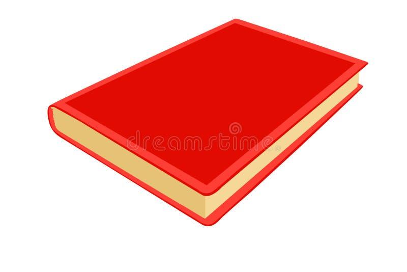Rote Anmerkungsauflage vektor abbildung