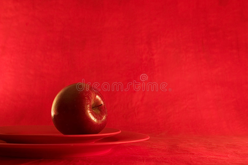 Rote Anziehungskraft lizenzfreies stockfoto