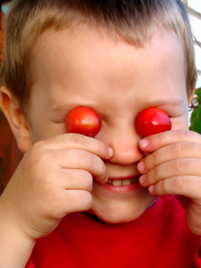 Rote Augen stockfoto