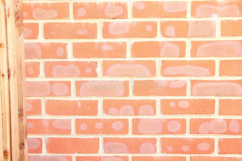 Download Rote Backsteinmauer-Szene stockbild. Bild von auslegung - 106804597