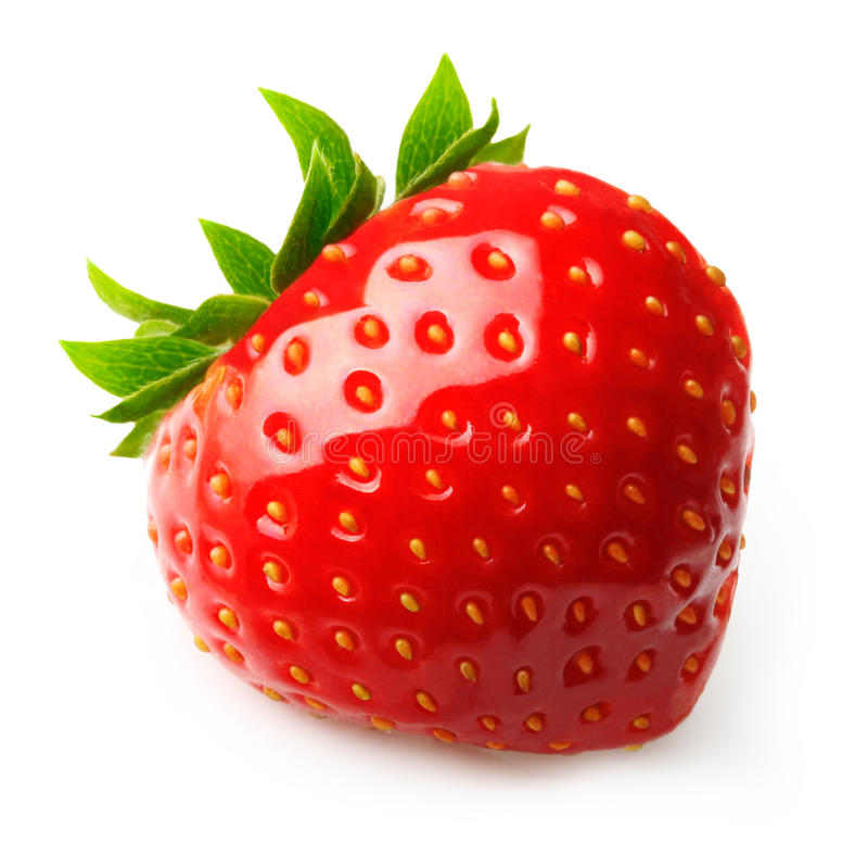 Rote Beerenerdbeere lizenzfreie stockbilder