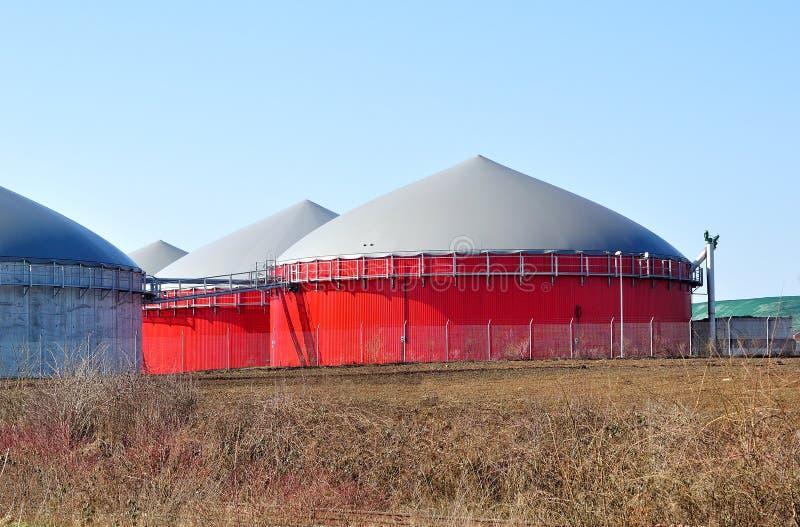 Biokraftstofftanks. lizenzfreie stockbilder
