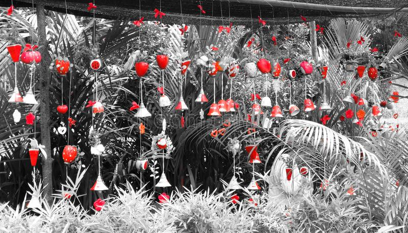 Rote Bell stockbild