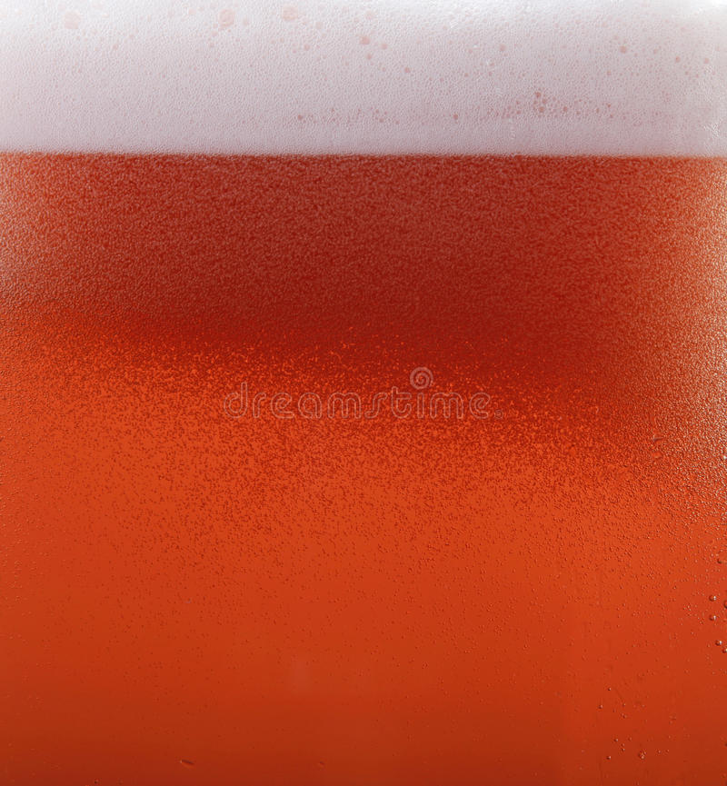 Rote Bierbeschaffenheit lizenzfreies stockfoto