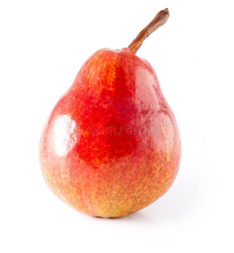Rote Birne lizenzfreies stockfoto