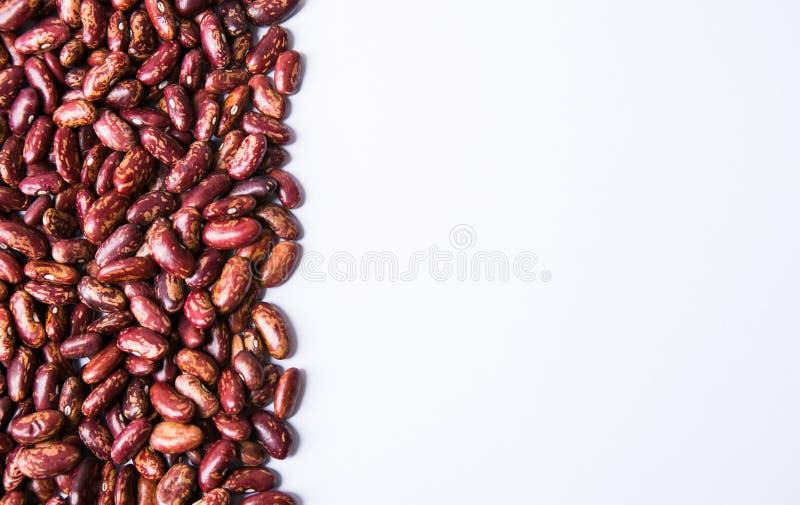 Rote Bohnen in a mit Hintergrund lizenzfreie stockfotos