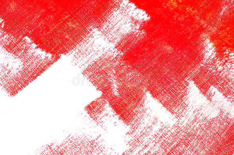 Rote Brushstrokes lizenzfreies stockbild