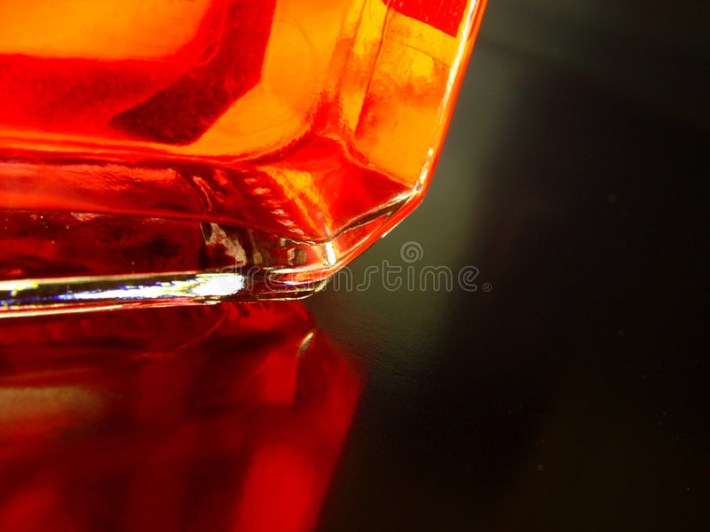 Rote Ecke lizenzfreie stockfotografie