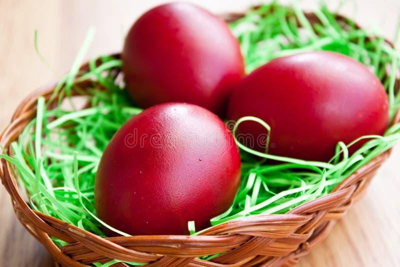 Rote Eier